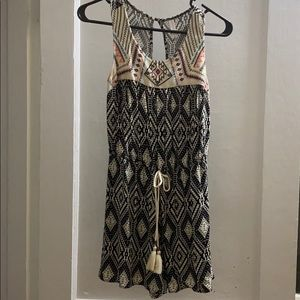 Xhiilaration tribal print romper.